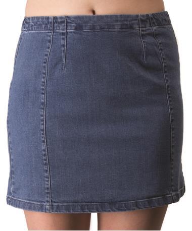 Gentle Fawn Janet Blue Jean Skirt Front Blue Jean