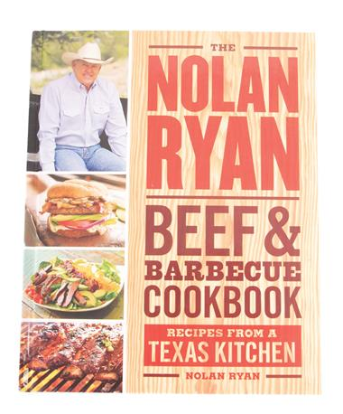 The Nolan Ryan Beef BBQ Cookbook Multi