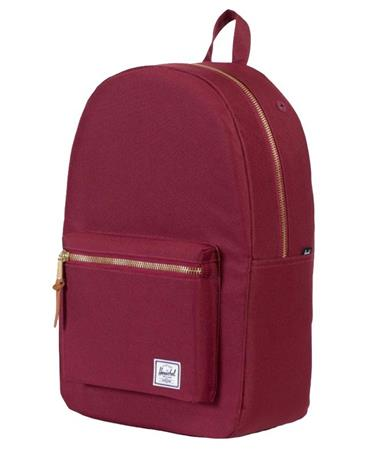 Herschel Settlement Backpack Windsor Wine Front Windsor Wine