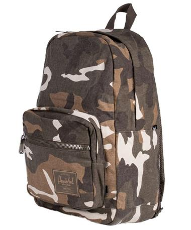 Herschel Pop Quiz Backpack Cub Camo Front Side Cub Camo