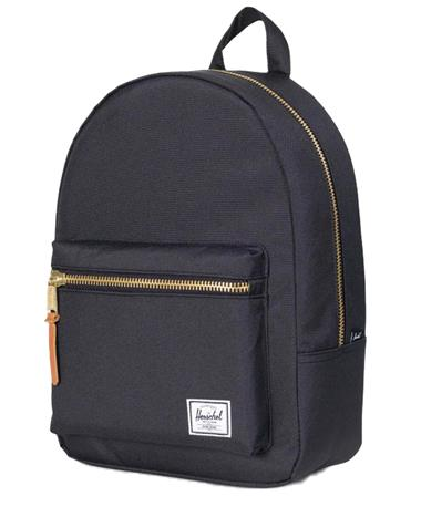 Herschel Grove X Small Back Pack Black Front Black