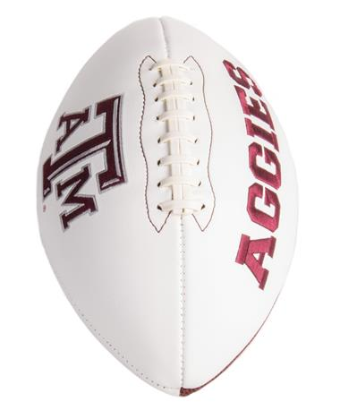 Texas A&M Signature Series Football - Front White