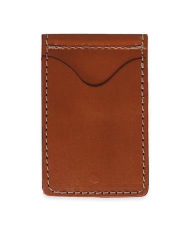 Jon Hart Bridle Leather Money Clip