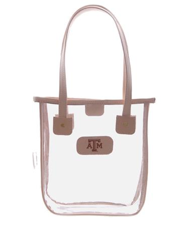 Jon Hart Texas A&M Aggie Game Day Tote - Front Natural