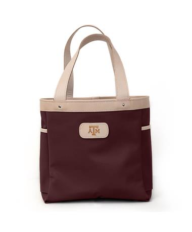 Texas A&M Jon Hart Maroon Left Bank Tote