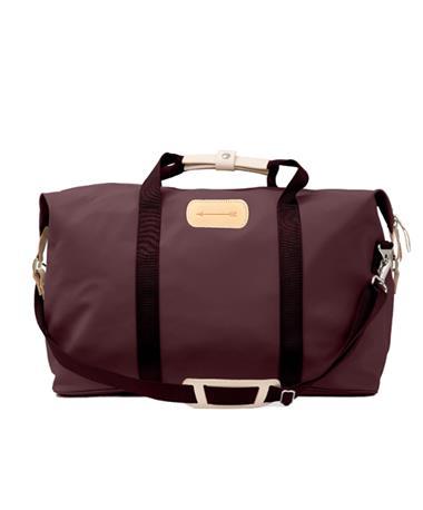 Maroon Jon Hart Arrow Weekender Bag