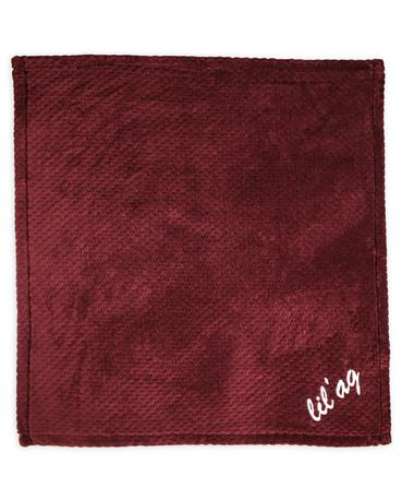Texas A&M Lil` Ag Pineapple Stitch Baby Blanket - Full Maroon