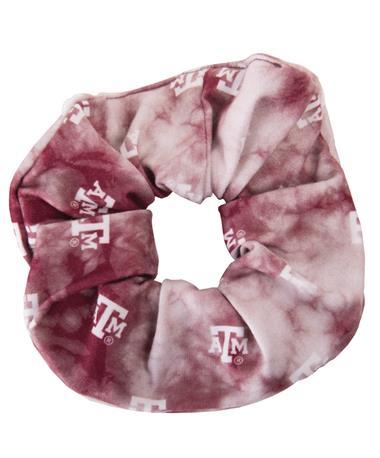League Texas A&M Aggie Spirit Scrunchie Maroon