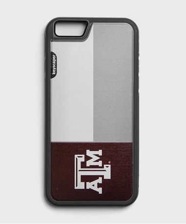 Texas A&M Flag Slim Phone Case Maroon
