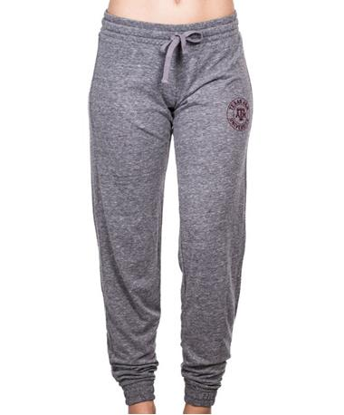 Texas A&M Aggie Womens Intramural Joggers - Front Grey