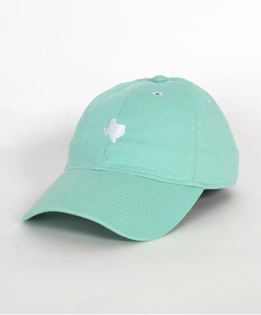 Legacy Relaxed Twill Adjustable Texas Hat Spearmint Front SPearMint