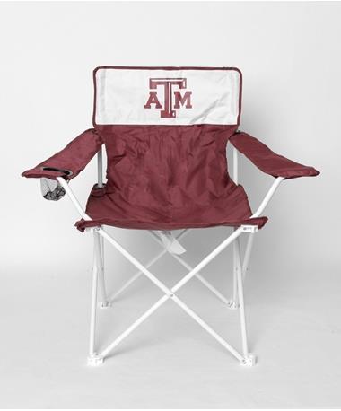 Texas A&M Aggie Canvas Folding Chair Maroon