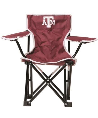 Texas A&M Aggie Folding Toddler Chair Maroon