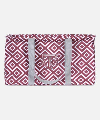 Texas A&M Double Diamond Picnic Caddy Maroon