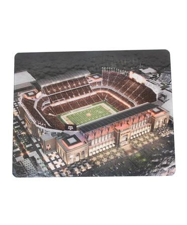 Texas A&M Kyle Field Large Cutting Board Glass