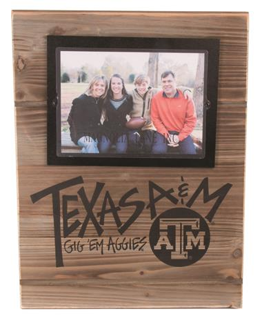 Magnolia Lane Texas A&M Real Wood Frame Wood