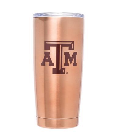 Texas A&M Viking Tumbler 20oz Copper