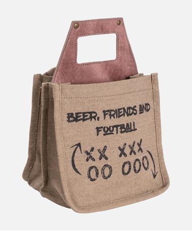 Friends Football Beer Caddy Maroon