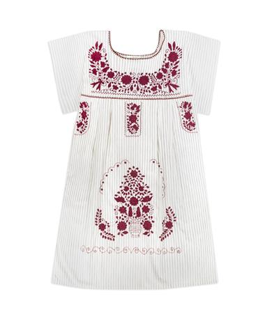 Nativa Patterned Mini Puebla Dress