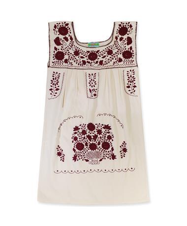 Nativa Puebla Sleeveless Mini Dress