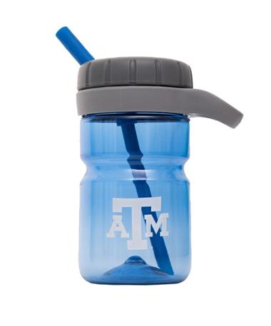 Texas A&M Kids Twist Top Water Bottle - Blue Blue