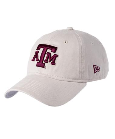 Texas A&M New Era Core Classic Twill Cap Front Stone