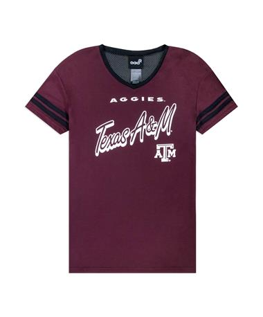 Texas A&M Sound Wave Youth Girls Top