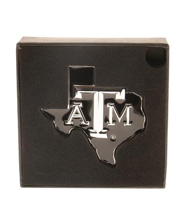 Texas A&M Lone Star Auto Chrome Emblem Chrome