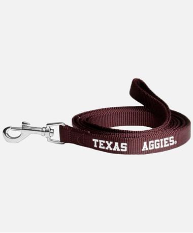 Texas A&M Aggies Dog Leash Maroon