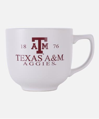 Texas A&M Aggie Martin Matte Finish Mug White