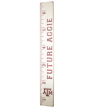 Texas A&M Future Aggie Growth Chart White