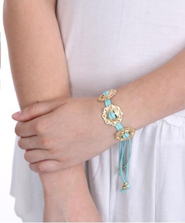 Concho Bracelet Mint