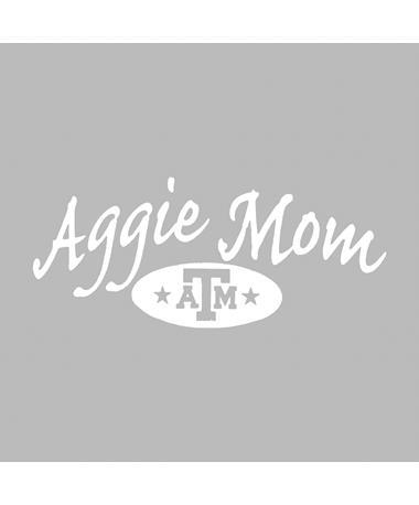 Texas A&M Aggie Mom Stars Decal