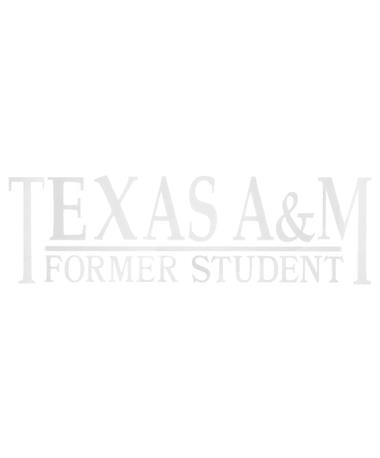 Texas A&M Former Student Decal White