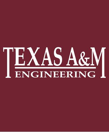 Texas A&M Aggie Engineering Decal White