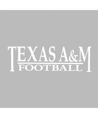 Texas A&M Football Decal