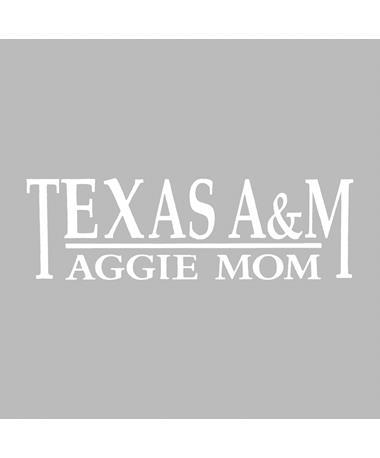 Texas A&M Aggie Mom Decal