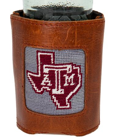 Smathers & Branson Texas A&M Koozie - In Use Grey
