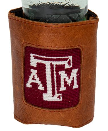 Texas A&M Smathers & Branson Koozie - In Use Maroon