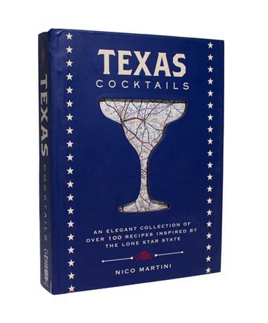 Texas Cocktails Recipe Book - Front Multi