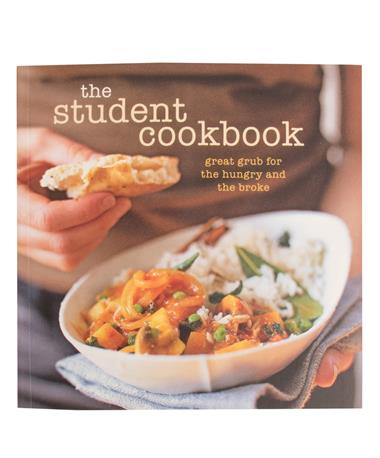 The Student Cookbook - Front Multi