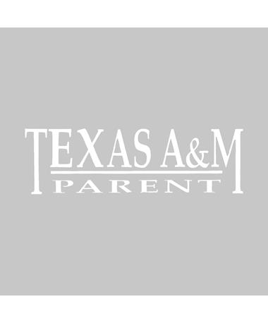 Texas A&M Aggie Parent Decal