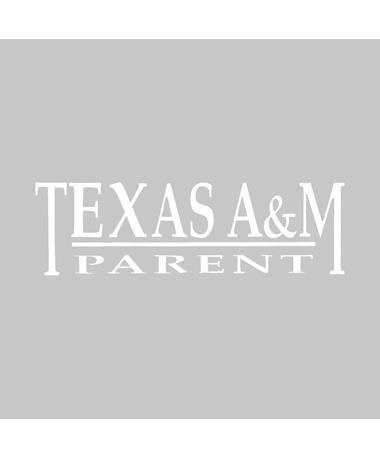 Texas A&M Aggie Parent Decal