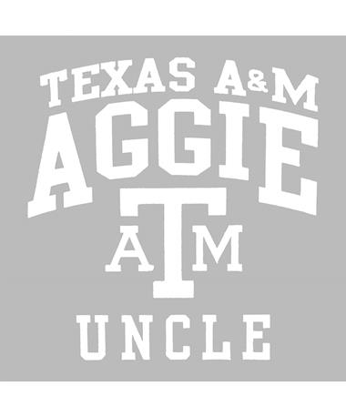 Texas A&M Aggie Uncle Decal