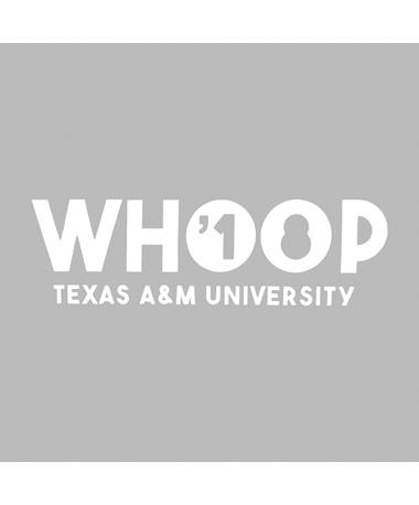 Texas A&M Aggie Whoop '18 Decal