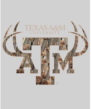 Texas A&M Camo Pocket Sticker Camo