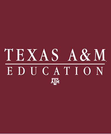 Texas A&M Aggie Education Decal White