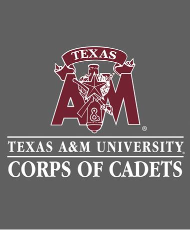 Texas A&M Aggie Corps Of Cadet Decal White