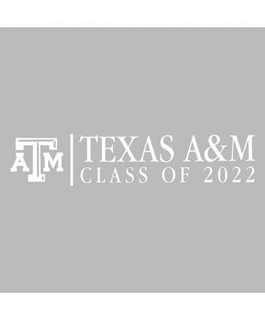 Texas A&M Basic Class of 2022 Decal
