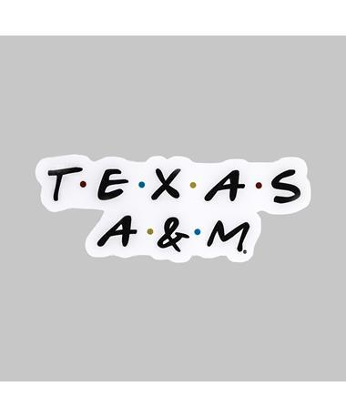 Texas A&M Friendly Decal